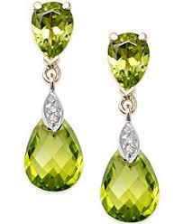 peridot earrings peridot earrings macy s