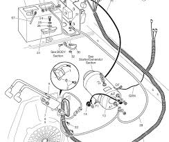 ez go wiring diagram starter ez go golf cart diagram ez go wire