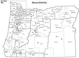 map of oregon house district maps
