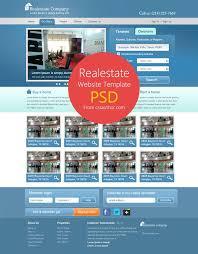 real estate website template psd for free download cssauthor com