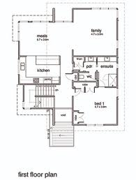 modern style house plan 3 beds 2 baths 2554 sq ft plan 496 20