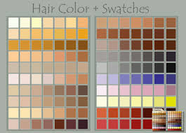 color swatches hair color swatches by deviantnep on deviantart