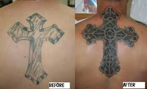 black cross tattoo cover up pictures to pin on pinterest tattooskid