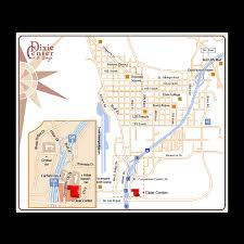 Utah City Map by St George Utah City Map Saint George Utah City Map