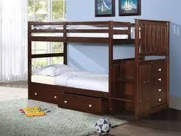 Kid Bunk Beds Better Homes And Gardens Leighton Twin Over Twin - Kids wooden bunk beds