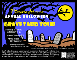 historic ithaca halloween graveyard tour this weekend