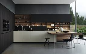 kitchen furniture sydney sydney concrete kitchen table contemporary with black joinery