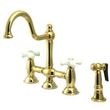 brass kitchen faucet brass polished kitchen faucets bellacor