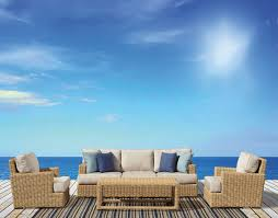 Patio Furniture Wicker Resin - how to choose the best material for outdoor furniture