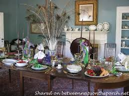mardi gras home decor a mardi gras brunch table setting tablescape