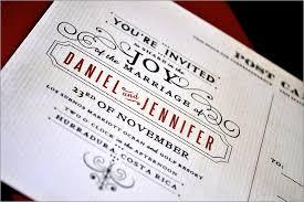 wedding postcards invitations wedding ideas