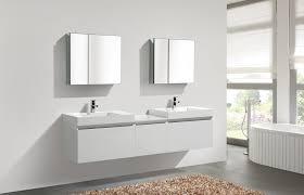 Modern Bathroom Trends Aquamoon Venice 83 White Infinity Sink Modern Bathroom