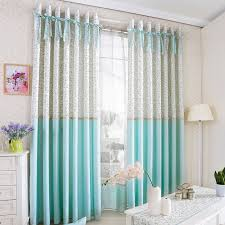 Princess Style Room Darkening Curtain For Kids Room With Bowknot - Room darkening curtains kids