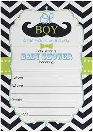 mustache baby shower invitations 50 mustache oh boy baby shower invitations and