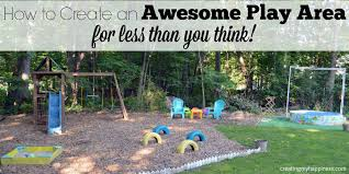 how to create an awesome play area for less than you think