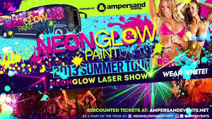 glow paint party neonglow paint party on tour