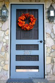 How To Make A Barn Style Door by Remodelaholic Diy Screen Door Tutorial