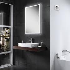 bathroom backlit mirror bathroom wall mirrors framed bathroom