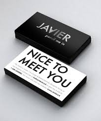500 Business Cards For Free Design My Own Business Card For Free Best 25 Minimal Business Card