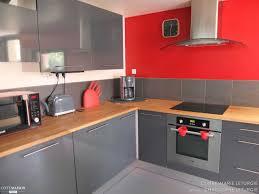 cuisine mur cuisine mur et gris photo decoration grise blanc 2 lzzy co