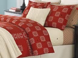 martha stewart cross stitch flannel twin duvet cover