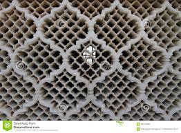 detail of a jali screen of bibi ka maqbara stock photo image