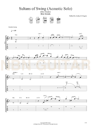 dire straits sultans of swing tab sultans of swing acoustic free sheet tabs nbn guitar
