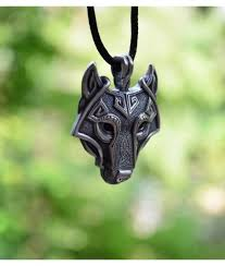 wolf necklace pendant images Wolf head pendant necklace ancient mjolnir pendant nordic wolf jpg