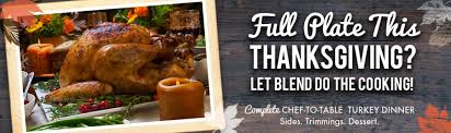 let us cook blend catering thanksgiving dinner in reno