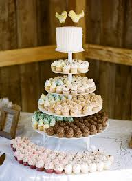 wedding cake and cupcake ideas cupcake tower archives southern weddings