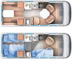 class b rv floor plans class b rv rentals