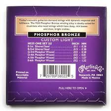 buy martin m535 phosphor bronze acoustic guitar strings custom