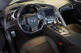 carbon fiber corvette parts c7corvette carbon fiber interior steering wheel accessories