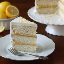 vanilla lemon layer cake completely delicious