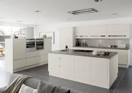 moda platinum kitchen matt handless door kitchen ideas