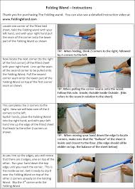 Folding Bed Sheets The Foldingwand How To Fold Fitted Bed Sheets Just