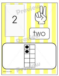 0 20 number and ten frame cards by suzy s place tpt