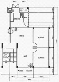 Garden Floor Plan by Floor Plans For Teban Gardens Road Hdb Details Srx Property
