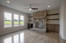 custom built wood burning fireplace stewart builders llc