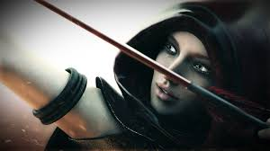 145 archer hd wallpapers backgrounds warrior with bow