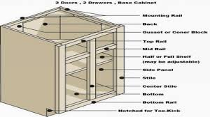 cabinet kitchen cabinet drawer dimensions standard kitchen