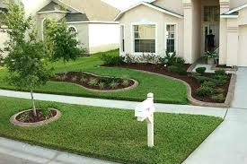easy front yard landscaping easy front yard garden ideas cheap diy