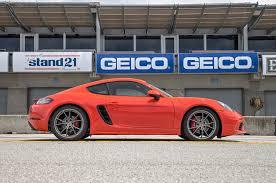 best porsche cayman porsche 718 cayman s 2nd place 2017 motor trend best driver s