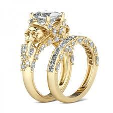 rings gold wedding images Skull wedding rings gothic wedding rings jpg