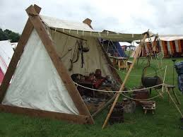 A Frame Awning Europa Re Enactment Work Shelter Or Awning For Viking Re Enactmnet