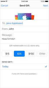 gift cards email send itunes gifts via email apple support