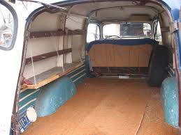 Classic Ford Truck Interiors - ford panel truck interior cargo