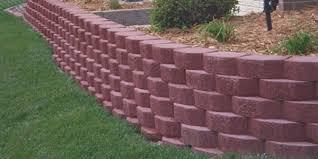 valley block u0026 concrete landscape block retaining wall