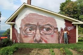 bernie sanders new house pictures five political revolution powering bernie sanders murals crush the