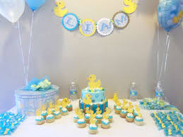 rubber duck baby shower decorations rubber ducky baby shower party ideas photo 5 of 6 catch my party